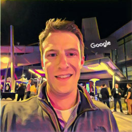 Brian Chappell at the google plex